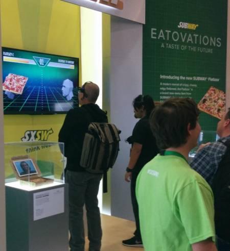 SSW2014 - subway brainwave game