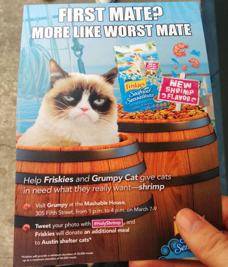 SXSW2014- grumpy cat